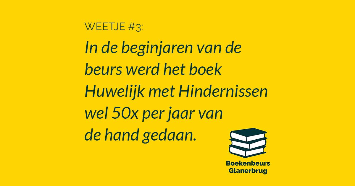 Boekenbeurs weetje #3