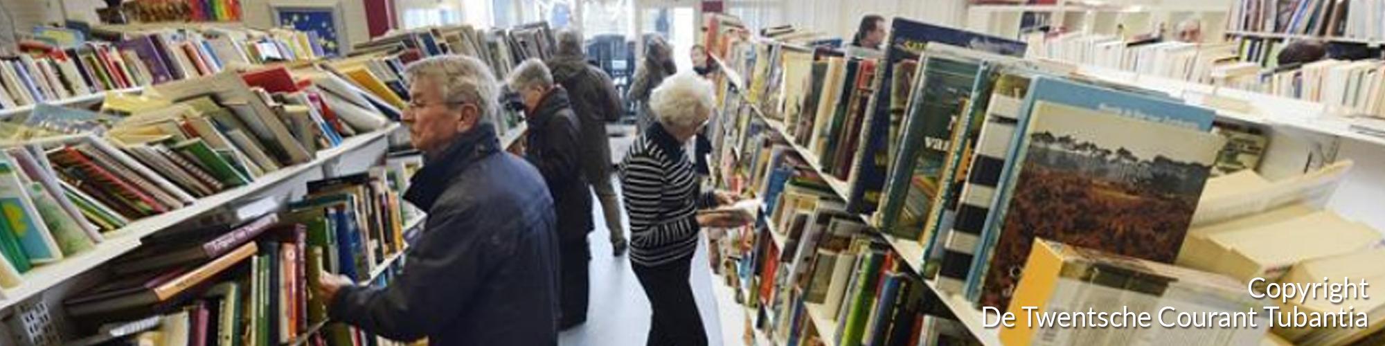 TC Tubantia artikel Meer boeken en meer ruimte voor bezoekers op Boekenbeurs Glanerbrug