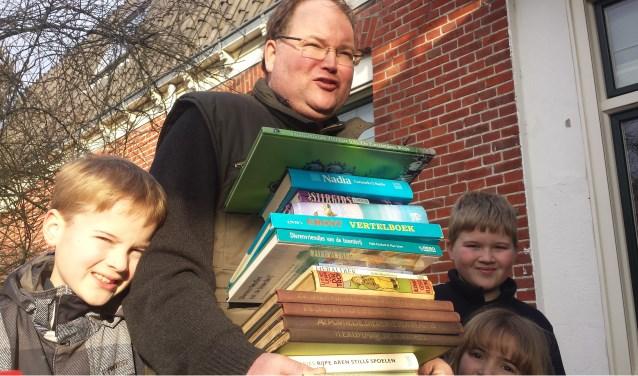 Foto bij Huis aan Huis artikel over de Boekenbeurs